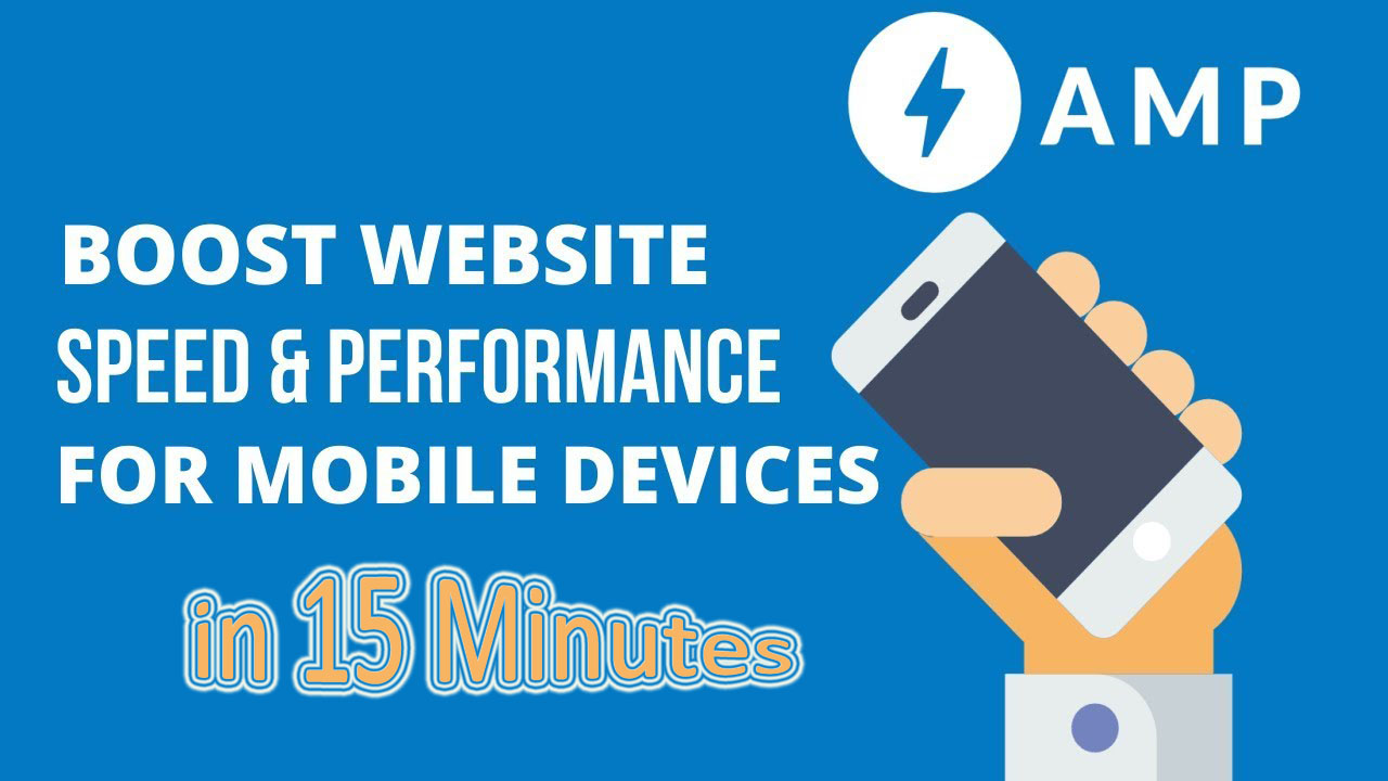 Advanced Speed up your Website with AMP – Google Tested!