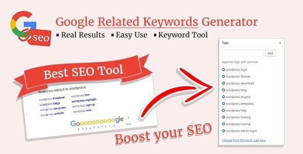 Google Related Keywords Generator